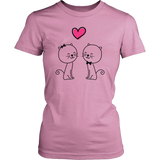 Egoteest: Cats in Love, Romantic T-shirt