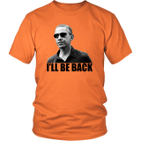 Barack Obama. I'll Be Back. Transparent Background
