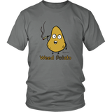 Weed Potato, Humor T-shirt. Unisex Up to 5XL