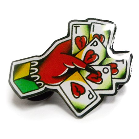 TIP TOP CARDS METAL PIN