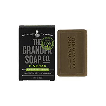 GRANDPA SOAP CO.  - PINE TAR SOAP (1.35 oz)