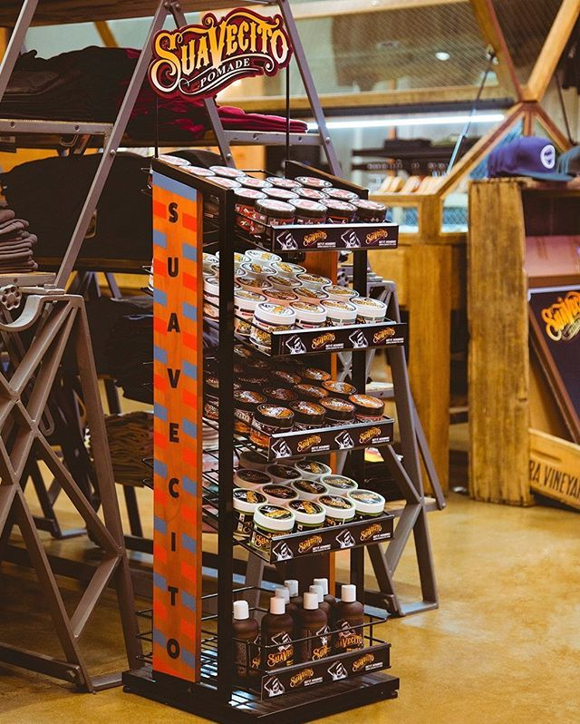 SUAVECITO - SUAVECITO FLOOR DISPLAY RACK