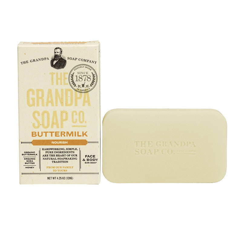 GRANDPA SOAP CO.  - BUTTERMILK SOAP (4.25 oz)
