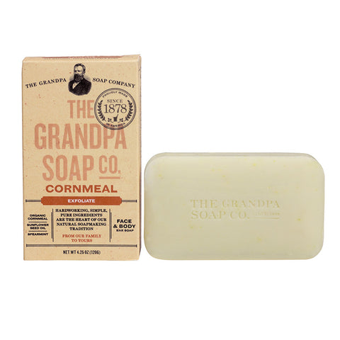 GRANDPA SOAP CO.  - CORNMEAL SOAP (4.25 oz)