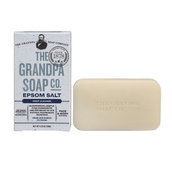 GRANDPA SOAP CO.  - EPSOM SOAP (4.25 oz)