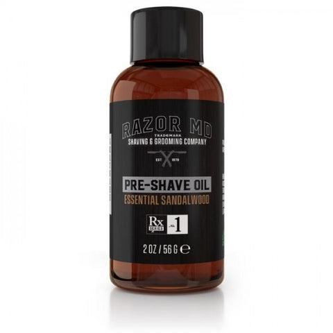 Essential Sandalwood Pre Shave Oil