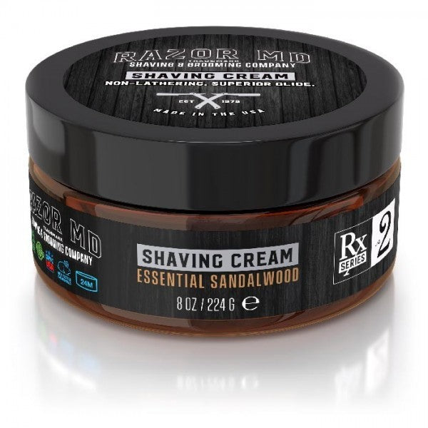 Essential Sandalwood Shaving Cream