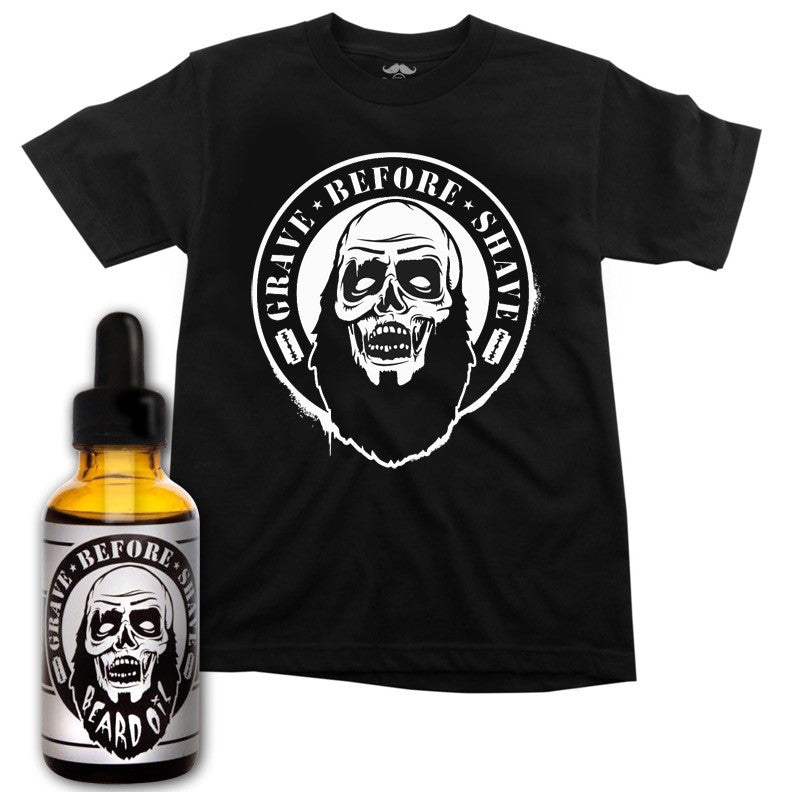 GRAVE BEFORE SHAVE - ZOMBIE TEE