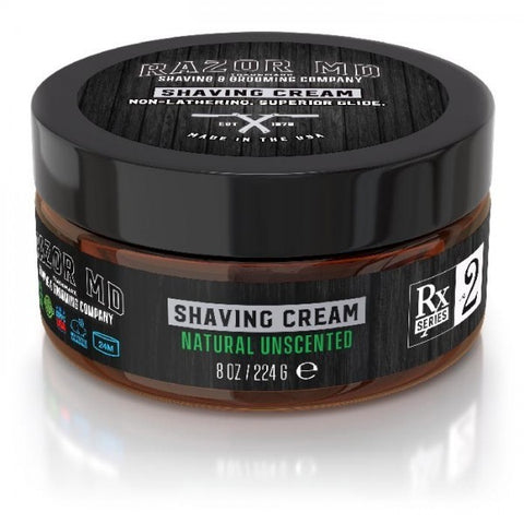 Natural Unscented Shaving Cream