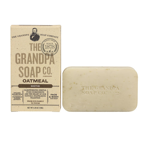 GRANDPA SOAP CO.  - OATMEAL SOAP (4.25 oz)