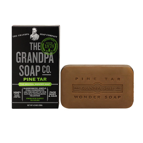 GRANDPA SOAP CO.  - PINE TAR SOAP (4.25 oz)