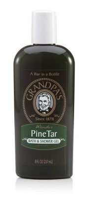 GRANDPA SOAP CO.  - PINE TAR BATH AND SHOWER GEL (8 oz)
