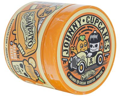 SUAVECITO X JOHNNY CUPCAKES FIRME HOLD ORANGE & CREAM POMADE