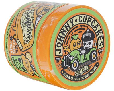 SUAVECITO X JOHNNY CUPCAKES MATTE ORANGE & CREAM POMADE