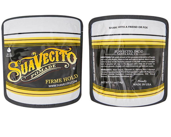 FIRME (STRONG) HOLD POMADE TRAVEL TIN – 8 PACK