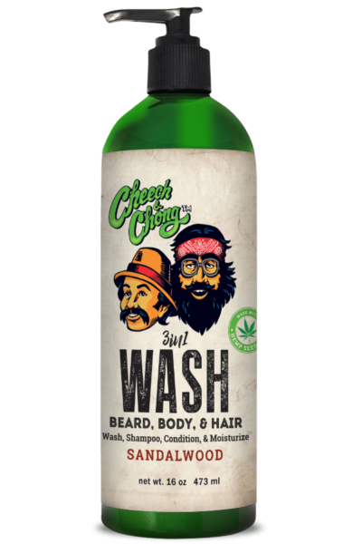 CHEECH AND CHONG - 3 IN 1 WASH (16 oz BEARD, BODY AND HAIR)