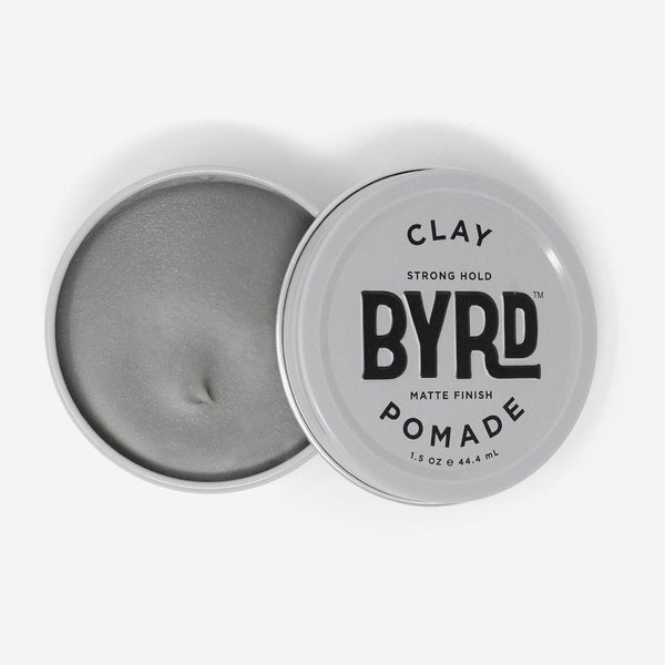 BYRD - STRONG HOLD CLAY POMADE