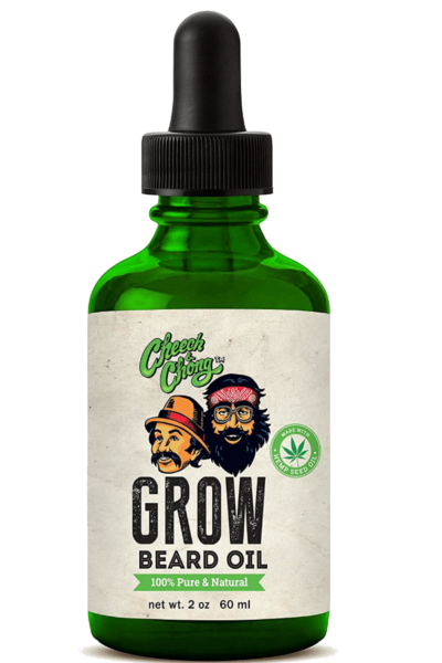 CHEECH AND CHONG - GROW BEARD OIL (2 oz)