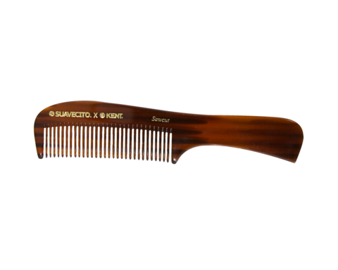 "KENT 8"" LARGE HANDMADE COMB W/HANDLE - FINE"