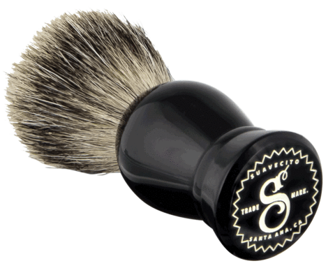 SUAVECITO PREMIUM BLENDS - PREMIUM RESIN SHAVE BRUSH
