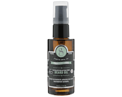 EUCALYPTUS AND TEA TREE BEARD OIL