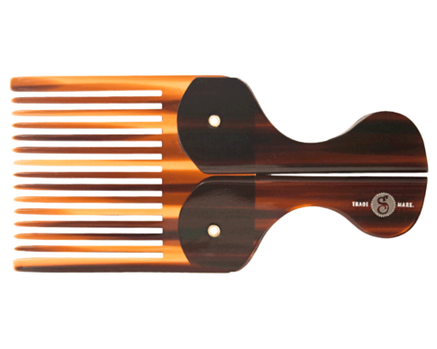 FOLDING POCKET BEARD COMB