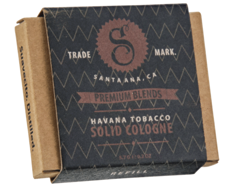 HAVANA TOBACCO FRAGRANCE SOLID COLOGNE