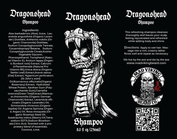Mad Viking Dragonshead Shampoo & Conditioner