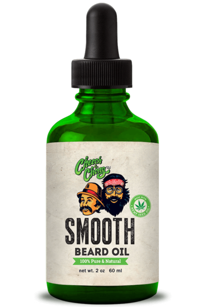 CHEECH AND CHONG - SMOOTH BEARD OIL (2 oz)