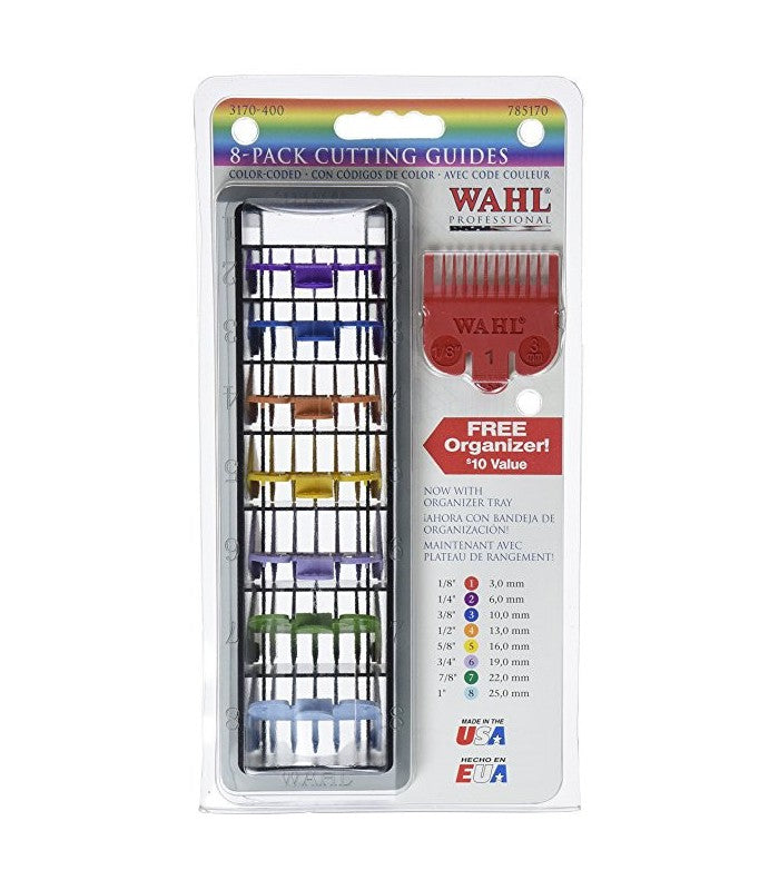 WAHL ORGANIZER W/ COLORCOMBS