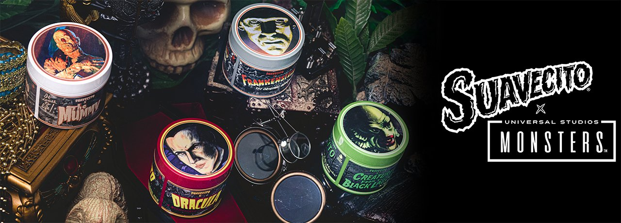 Suavecito Universal Monsters
