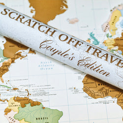 The World (Couples Edition) Scratch Off Travel Map