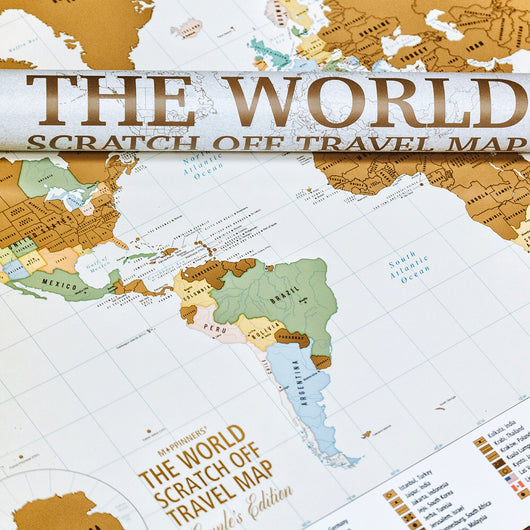 The world couples edition scratch off travel map mappinners the world couples edition scratch off travel map gumiabroncs Image collections