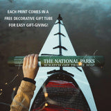 "The National Parks Scratch Off Travel Print (16x20"")"