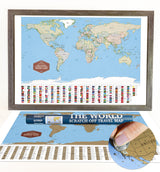 The World Scratch Off Travel Map