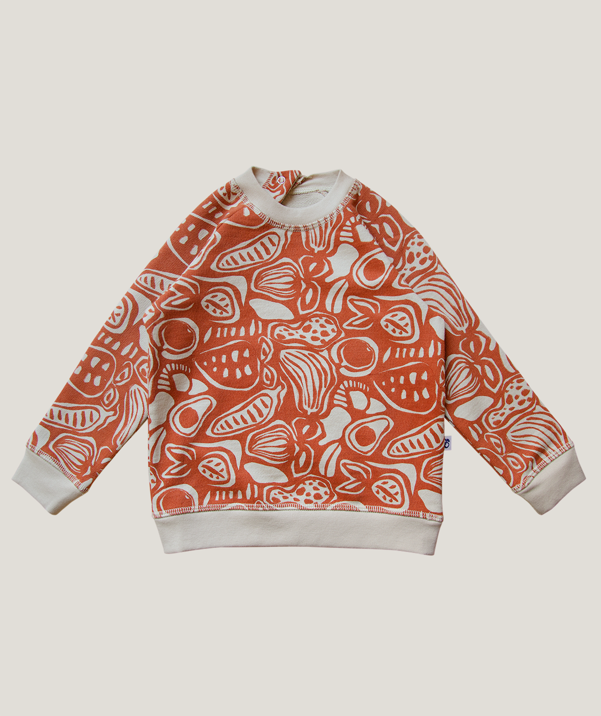 Harvest Sweatshirt, Burnt Ochre