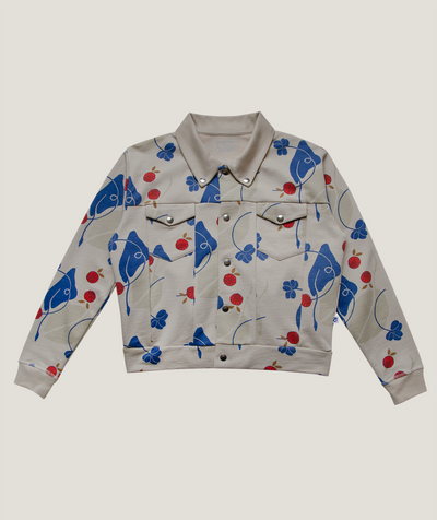 'Lucky' Jersey Jacket ADULT - 100% Organic Pima Cotton - Granelito