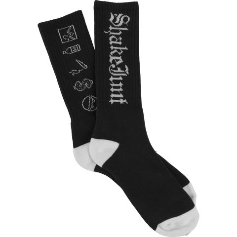 87 BLACK AND WHITE SOCKS