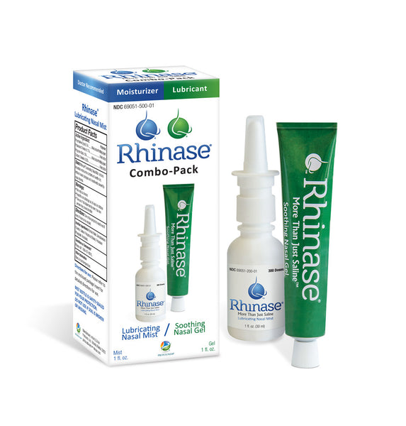 A picture of a steroid free nasal relief spray