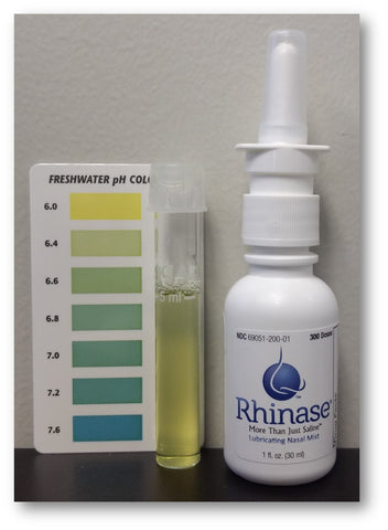 Rhinase pH matches nose for less stinging