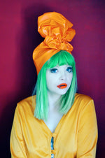 PVC Top Knot Turban