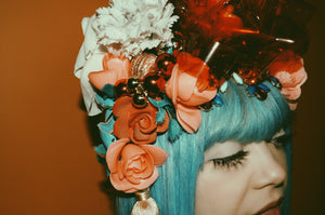 Geisha inspired Kawaii headpiece