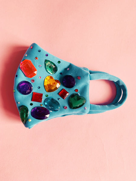 Bejewelled Gem Fashion Neoprene Face mask *NEW YEAR DELIVERY*