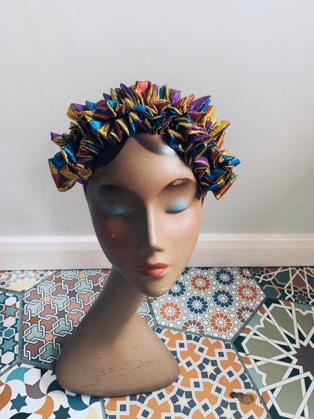 Lame Ruffle Party Headband *NEW YEAR DELIVERY*
