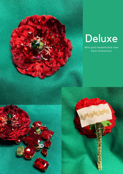 Jewelled Poppies