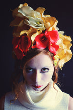 Rubber Lillies floral headpiece