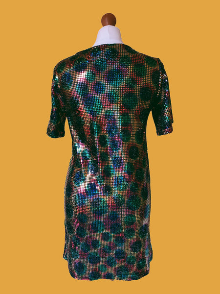 DISCO T-SHIRT DRESS