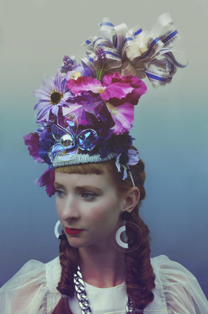 Fairy - fantasy - burning man Crown / Headdress