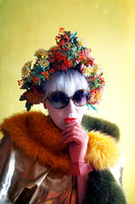 Vintage, Ethereal, Whimsical, May Day Headdress