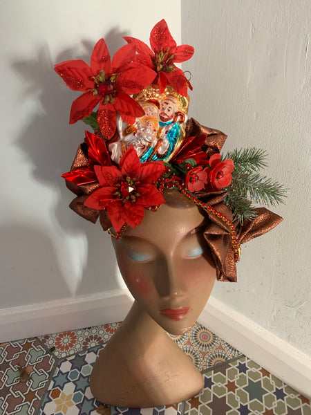 Nativity Scene Christmas Headdress